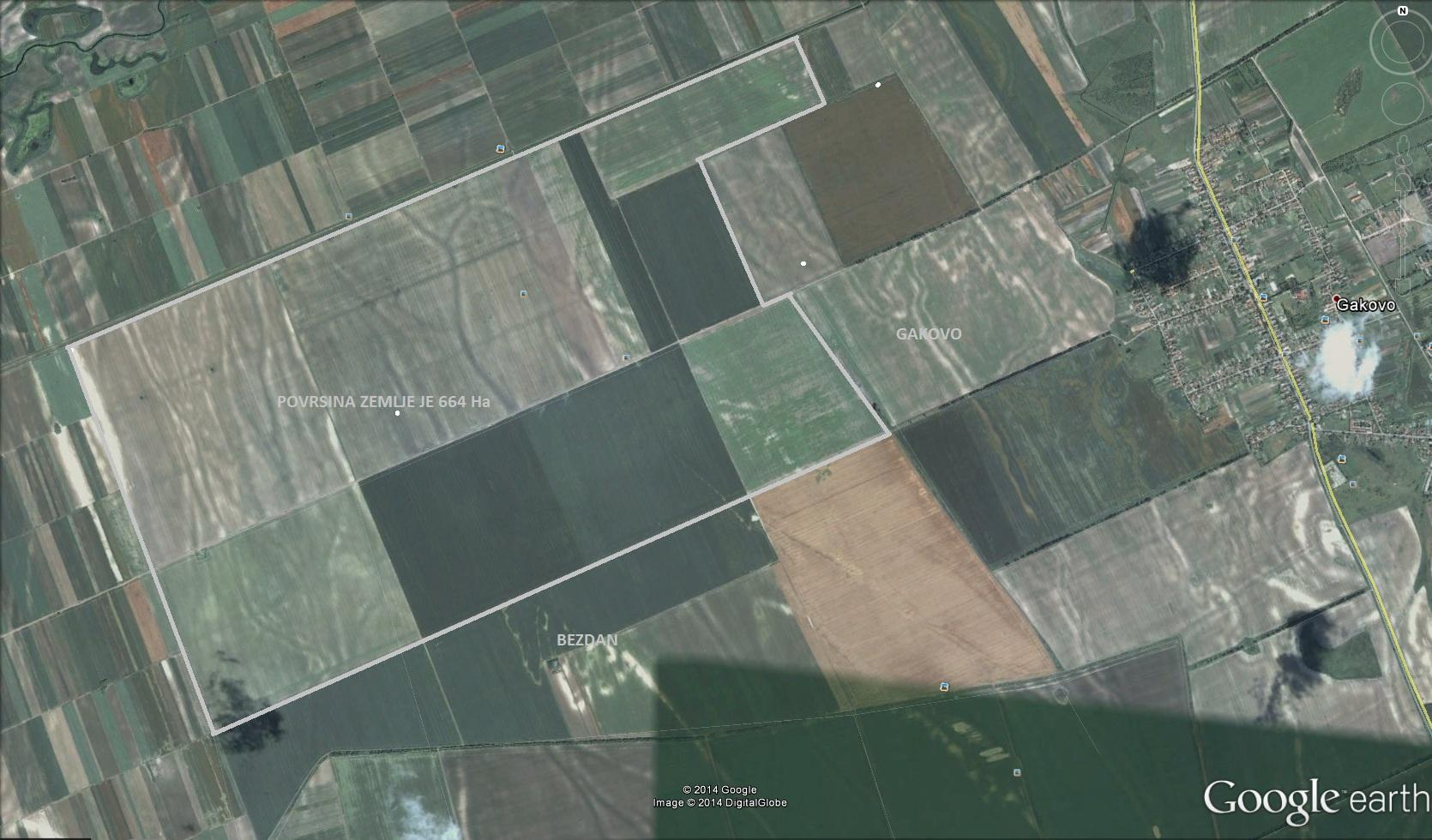 Serbia Arable farm for sale with irrigation